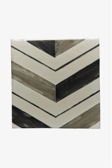 "RedBank Decorative Field Tile Pleat 6"" x 6"" STYLE: RNFD01"