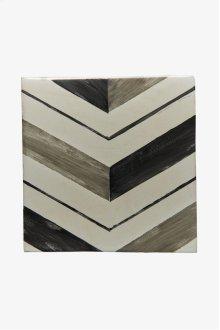 "RedBank Decorative Field Tile Pleat 6"" x 6"" STYLE: RNFD01"