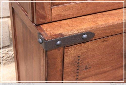 2 Drawer, 3 Storage Shelves Left pier