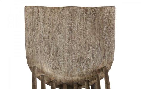 Epicenters Austin Spoke Spindle Chair - Grey Elm