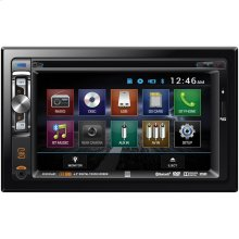 "6.2"" Double-DIN In-Dash DVD Receiver with Bluetooth®"