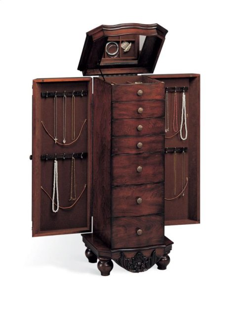 "RED HOT BUY ! Jewelry Armoire -""AS IS"""