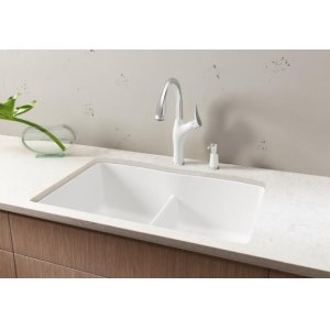 Blanco Diamond Equal Double Bowl With Low-divide - Cinder
