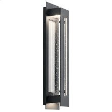"""River Path Collection River Path 23"""" LED Outdoor Wall Light BKT"""