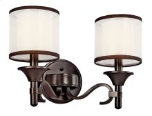 Lacey 2 Light Vanity Light Mission Bronze