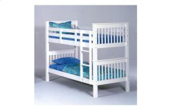 Sadler White Twin over Twin Bunk Bed