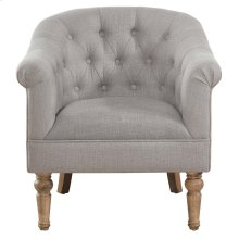 Welbeck Accent Chair in Grey