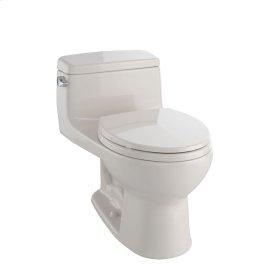 Eco Supreme® One-Piece Toilet, 1.28 GPF, Round Bowl - Bone