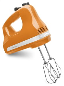5-Speed Ultra Power Hand Mixer - Tangerine