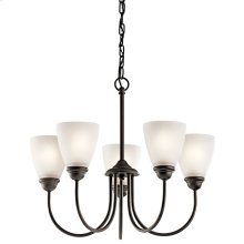 Jolie Collection Jolie 5 light Chandelier OZ
