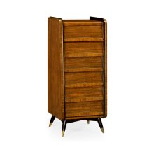 Hyedua Mid-Century Tall Chest of Drawers