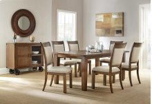 Hailee 5-pc Dining Set: Table & 4 Chairs.   *shown as 7-pc set.