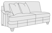 Tarleton Left Arm Loveseat in Brandy (703)