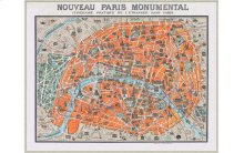 Monumental Map Of Paris