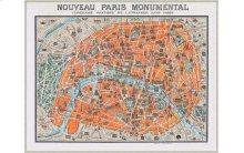 Monumental Map Of Paris