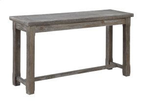 Emerald Home Paladin Sofa Table Rustic Charcoal T3502