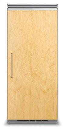 "36"" Custom Panel All Refrigerator, Right Hinge/Left Handle"