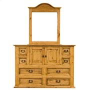 "Mirror : 39"" x 2"" x 46"" Mansion Dresser Product Image"