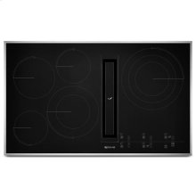 "JennAir® Euro-Style 36"" JX3 Electric Downdraft Cooktop with Glass-Touch Electronic Controls - Stainless Steel"