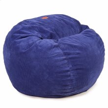 King Chair - Chenille - Navy