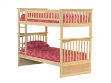 Columbia Bunk Bed Twin over Twin in Natural