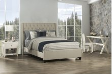 Churchill Cal King Bed - Dove Gray Fabric