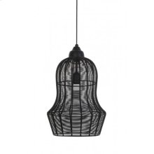 Hanging lamp 27x42 MEIA matt black