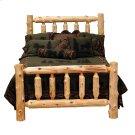 Traditional Log Bed Cal King, Natural Cedar Product Image
