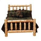 Traditional Log Bed Cal King, Natural Cedar Product Image