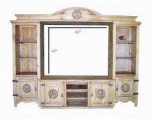 """Complete 4pc TV Wall Star 60""""c"""