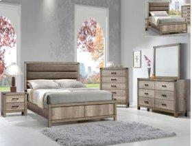 Matteo 5 PC. Queen Bedroom Suite