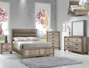 Crown Mark B3200 Matteo Twin Bedroom
