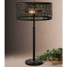 Alita Black Table Lamp