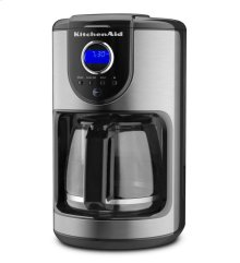 KitchenAid® 12-Cup Glass Carafe Coffee Maker - Onyx Black