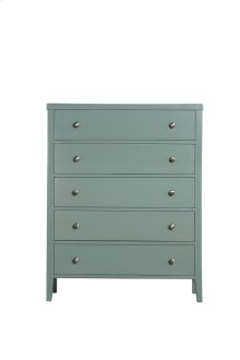 Emerald Home Home Decor 5 Drawer Chest-seafoam Green B371-05grn