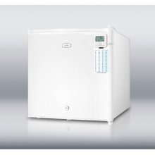 Commercially Approved Compact All-freezer, Manual Defrost With A Lock and Traceable Thermometer