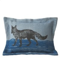 Fox Lumbar Pillow. Product Image