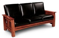 Aspen Sofa Recliner, Leather Cushion Seat Product Image