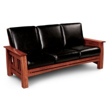 Aspen Sofa Recliner, Leather Cushion Seat