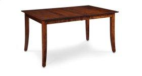Loft II Leg Table, Solid Top