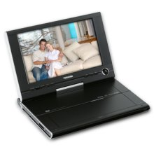 "9"" Diagonal Portable DVD Player"