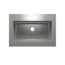 """Classic+ 000253 - worktop stainless steel Kitchen sink , 30"""" × 16"""" × 10"""""""
