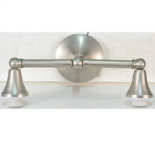 "14""W Cone Cap 2 LT Wall Sconce Hardware"
