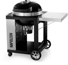 PRO CART Charcoal Kettle Grill , Black , Charcoal