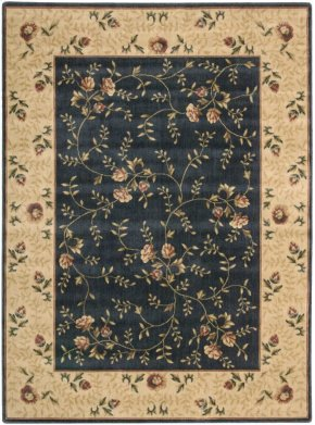 SOMERSET ST05 NAV RECTANGLE RUG 5'3'' x 7'5''
