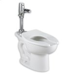 American StandardWhite Madera ADA 1.1 gpf System with EverClean & Selectronic Flush Valve