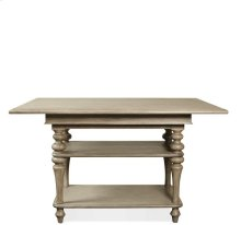 Corinne Table Top 148 lbs Sun-drenched Acacia finish