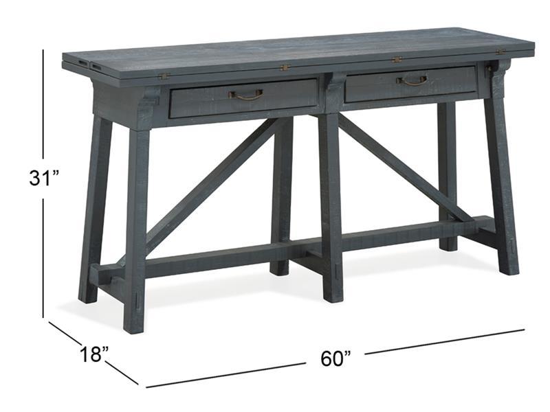 Attirant Flip Top Sofa Table