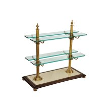 Cheesecake Serving Stand, Walnut