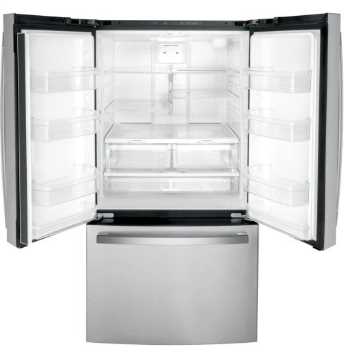GE® ENERGY STAR® 27.0 Cu. Ft. French-Door Refrigerator